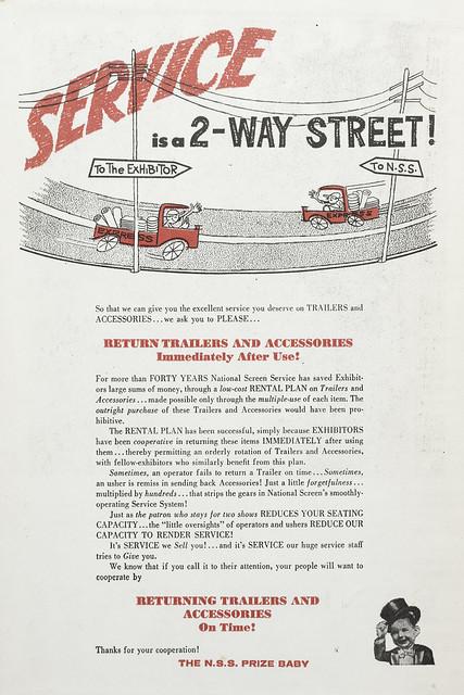 Service is a 2-Way Street!