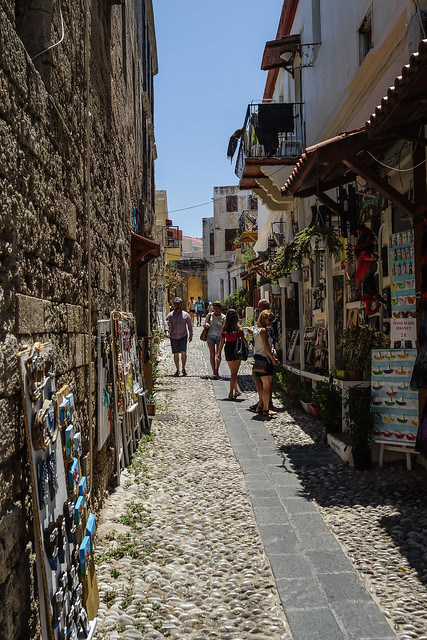 The Backstreets of Rhodes