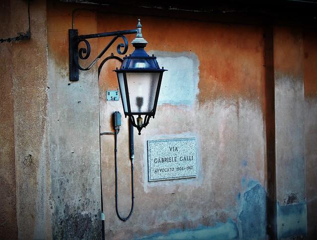 Orta, via Gabriele Galli.