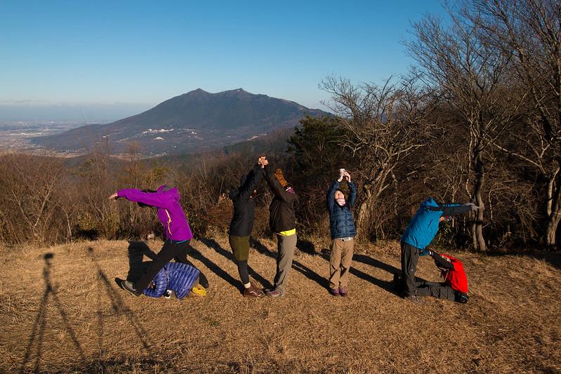 宝篋山の山頂