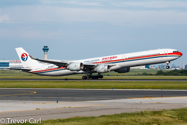 China Eastern Airlines | B-6051 | A340-642 | YYZ | CYYZ