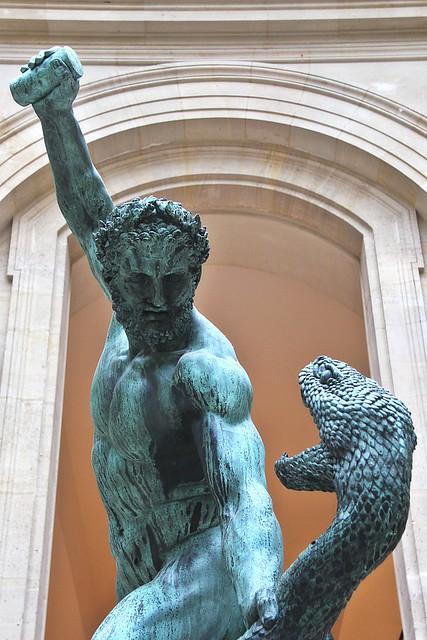 Hercule combattant Achéloüs métamorphosé en serpent # 2