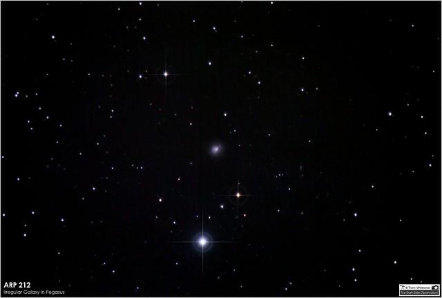 ARP 212 (NGC 7625) Irregular Galaxy in Pegasus