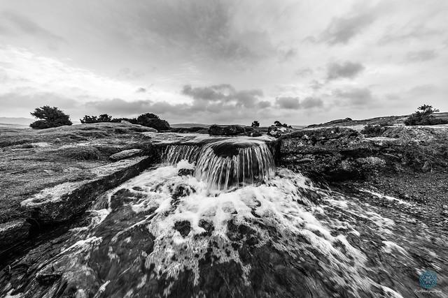 Windy Post Dartmoor B+W