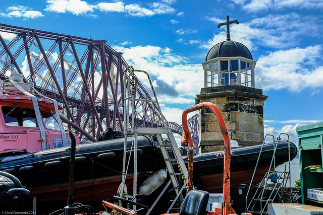The Old Lighthouse at North Queensferry, Fife