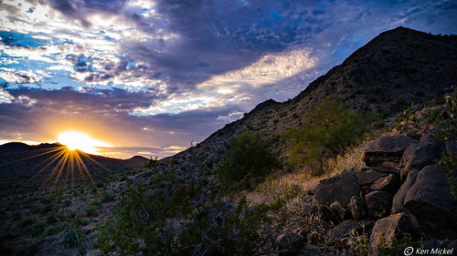 arizona buckeye clouds cloudy desert kenmickelphotography landscape landscapedesert outdoors plants seasons sky skylineregionalpark summer sunstareffect sunsets backlighting backlightingphotography backlit backlitphotography nature photography sunbursteffect sunset