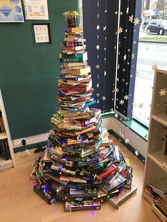 Secondhand books Christmas tree | by hazelnicholson