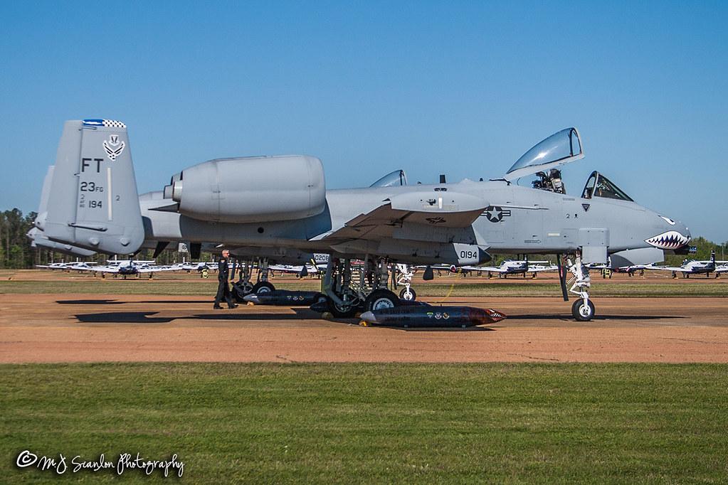 80-0194 USAF | Fairchild Republic A-10C Thunderbolt II | Columbus Air Force Base