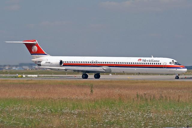 Meridiana McDonnell Douglas MD-82 I-SMEL FRA 26-06-04