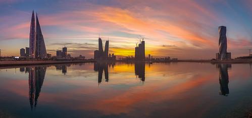 bahrain sunset