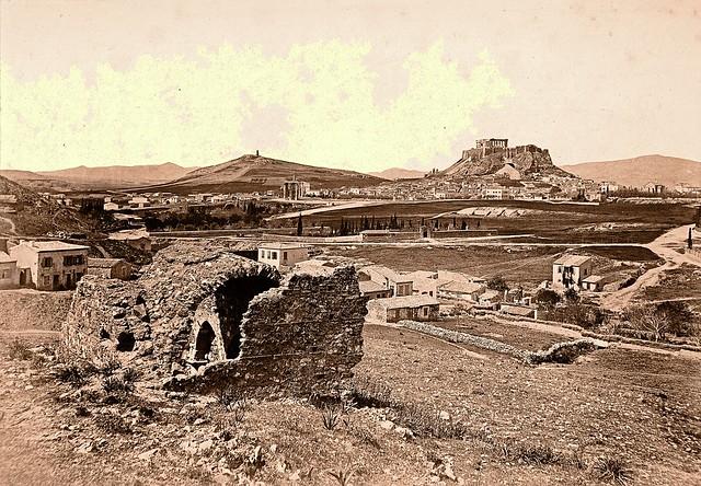 Athens View ca. 1867