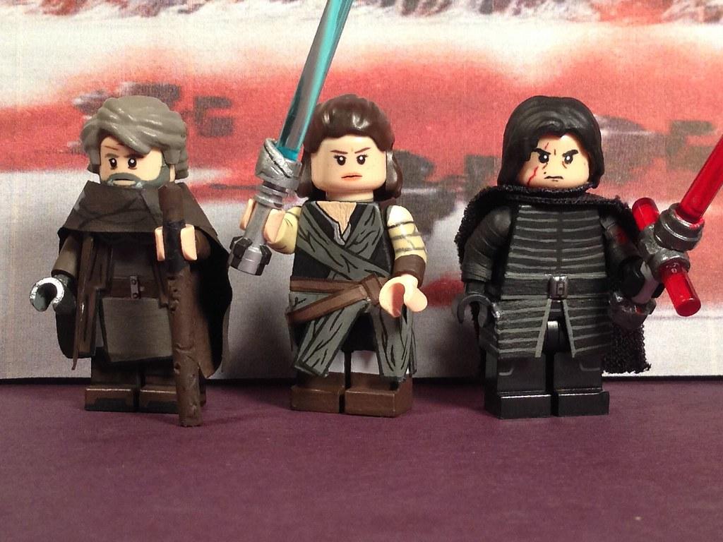 Lego Custom Star Wars The Last Jedi Luke Skywalker Rey Flickr