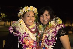 "The Kapiolani Community College nursing students at their pinning ceremony where each student calls upon their parents, spouse, child or friend to ""pin"" them and share in their accomplishment."
