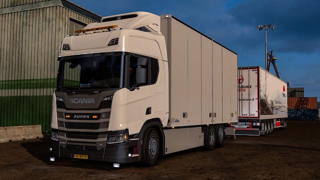Scania R580 NTM - Polarica