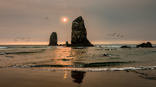 Sunset at Cannon Beach | by Bernd Thaller