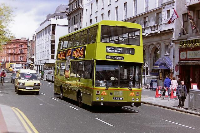 DUBLIN BUS/BUS ATHA CLIATH KD338 GSI338