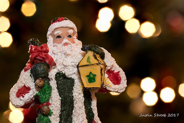 Santa with Bokeh 2