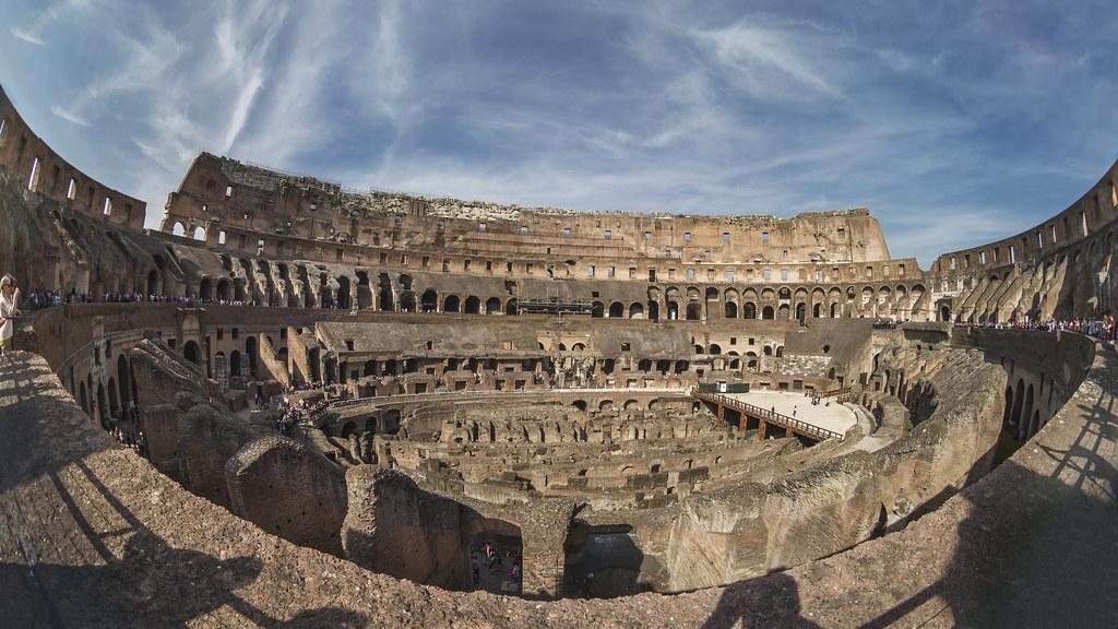 Coliseo Romano Explore Ene 03 2018 Roma 2014 Peleng 85m Flickr