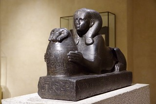 Granite Sphinx of Shepenupet II, Wife of Amon | by Dave Hamster