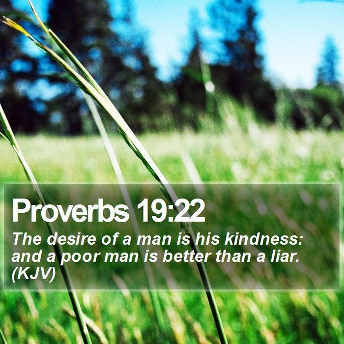 Daily Bible Verse - Proverbs 19:22 | Proverbs 19:22 The desi… | Flickr