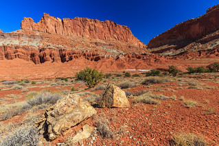 The fluted Wall in Capitol Reef NP | by LarsGerritS