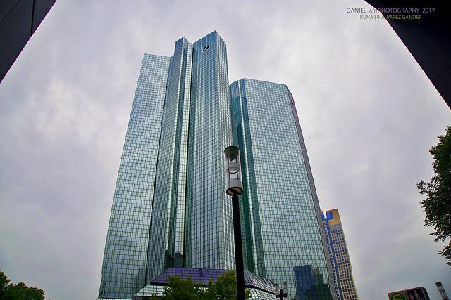 Rascacielos Deutsche Bank, Frankfurt