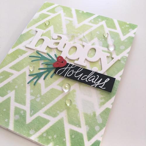 Happy Holidays card   by Kimberly Toney