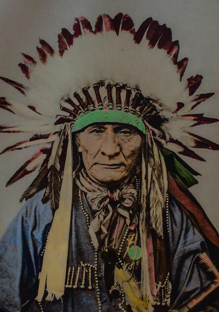 Native American chief (1920s)
