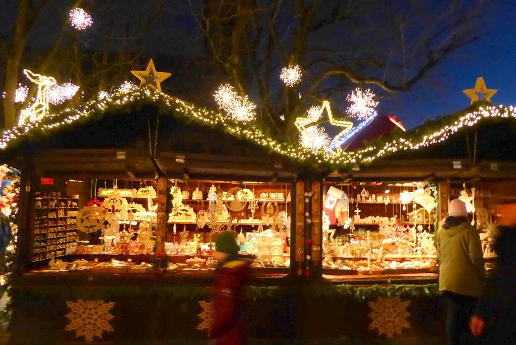 Basel Christmas Market.Christmas Market In Basel Munsterplatz Basel Marlis1