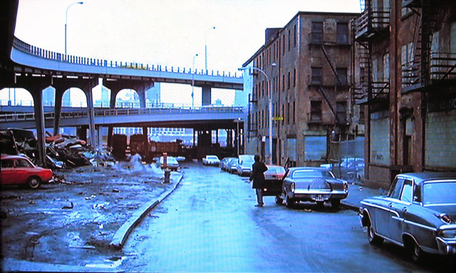 More New York fun in the good old days! Before the South Street Seaport and gentrification, the Lower East Side was a total dumping ground filled with abandoned 19th Century brick buildings which once housed stores and tenants. New York 1970