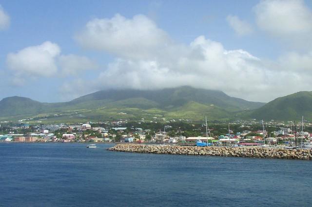 Mount Liamuiga on St. Kitts