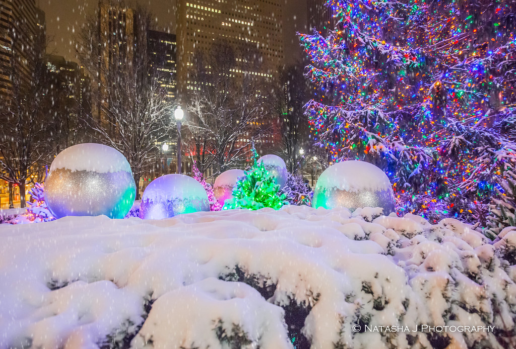 What Is Christmas With No Snow Chicago At Millennium P Flickr