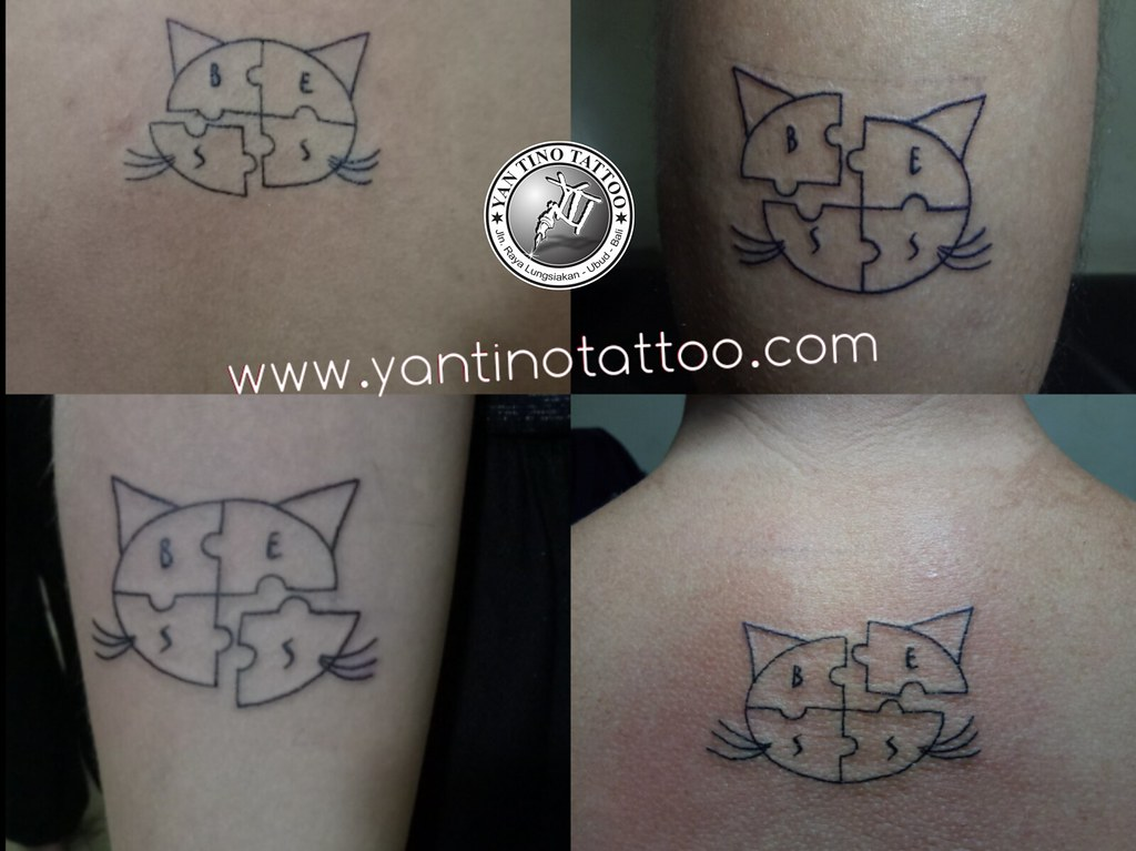 Cat Tattoo Bali Women Amazing Dunia Word Indonesia Top Kut