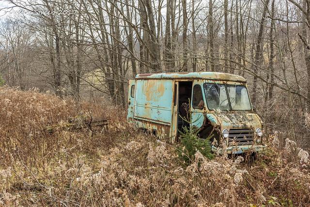 NY Abandoned Truck