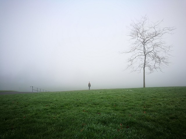 Fog o'clock.