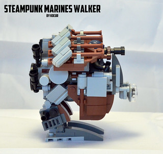 Steampunk Walker 02 Side | by kocurvelox