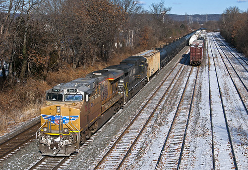 csx manvillenj up unionpacific gevo c45ah c45accte manvilleyard ethanol train railfan railroad es44ac