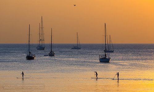 Yachts. People. Sunset | by Phuketian.S