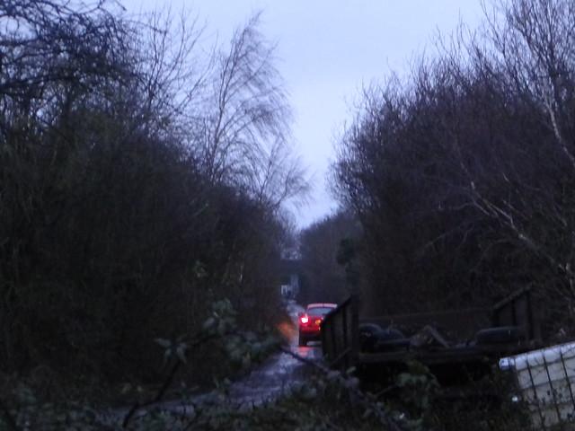 The GCR overbridge at Twyford, Buckinghamshire.
