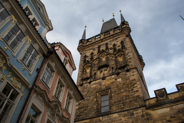 The Lesser Town : Bridge Tower