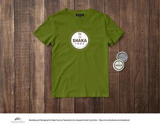 T-Shirt Uniforme y Pines Shaka Food