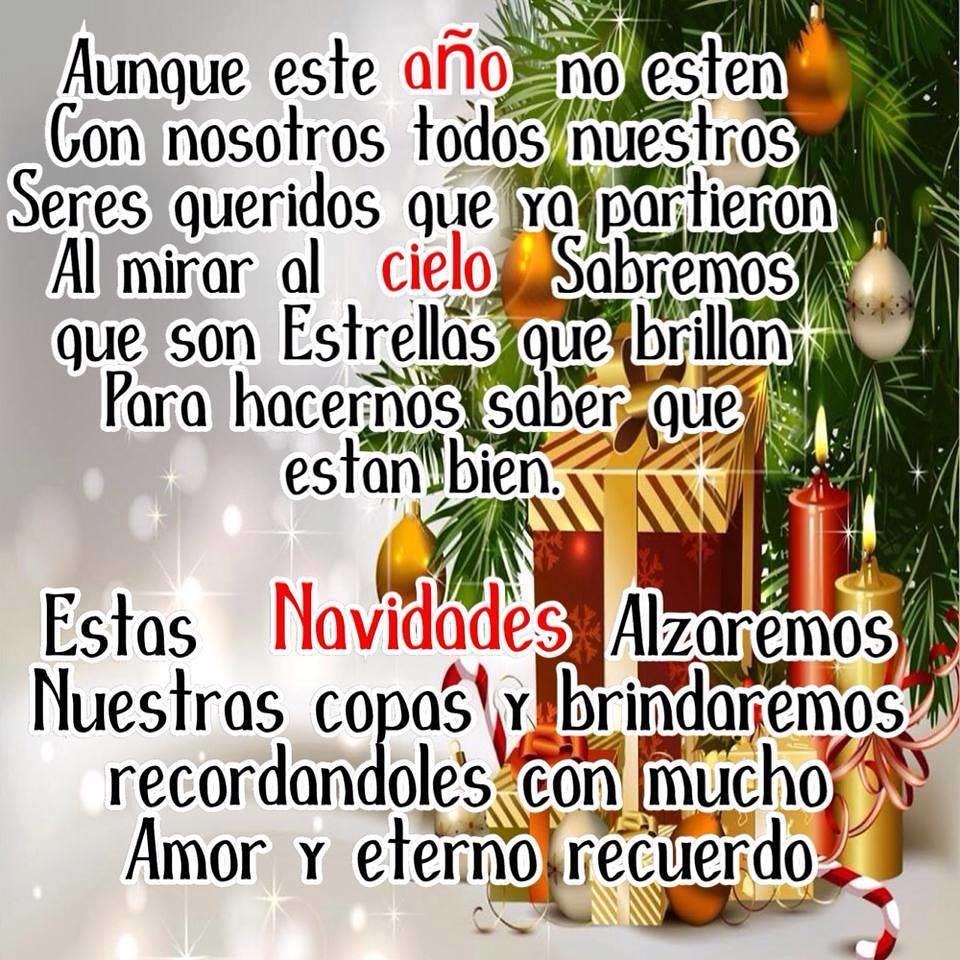 Imágenes Con Frases De Navidad Nuestros Seres Queridos S