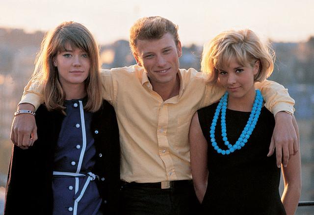 Francoise-Hardy-Johnny-Hallyday-Sylvie-Vartan-1963-photo-jean-marie-perier