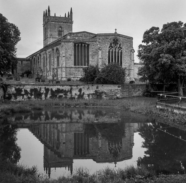 FILM - Church in a pond