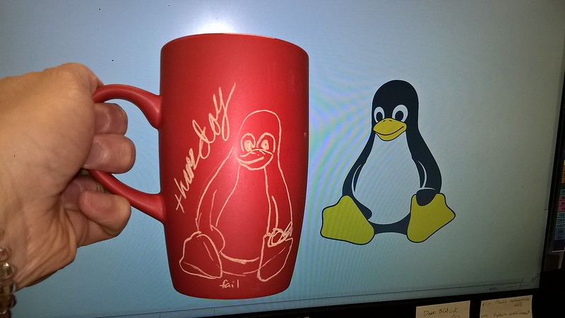 linux penguin thursday fail