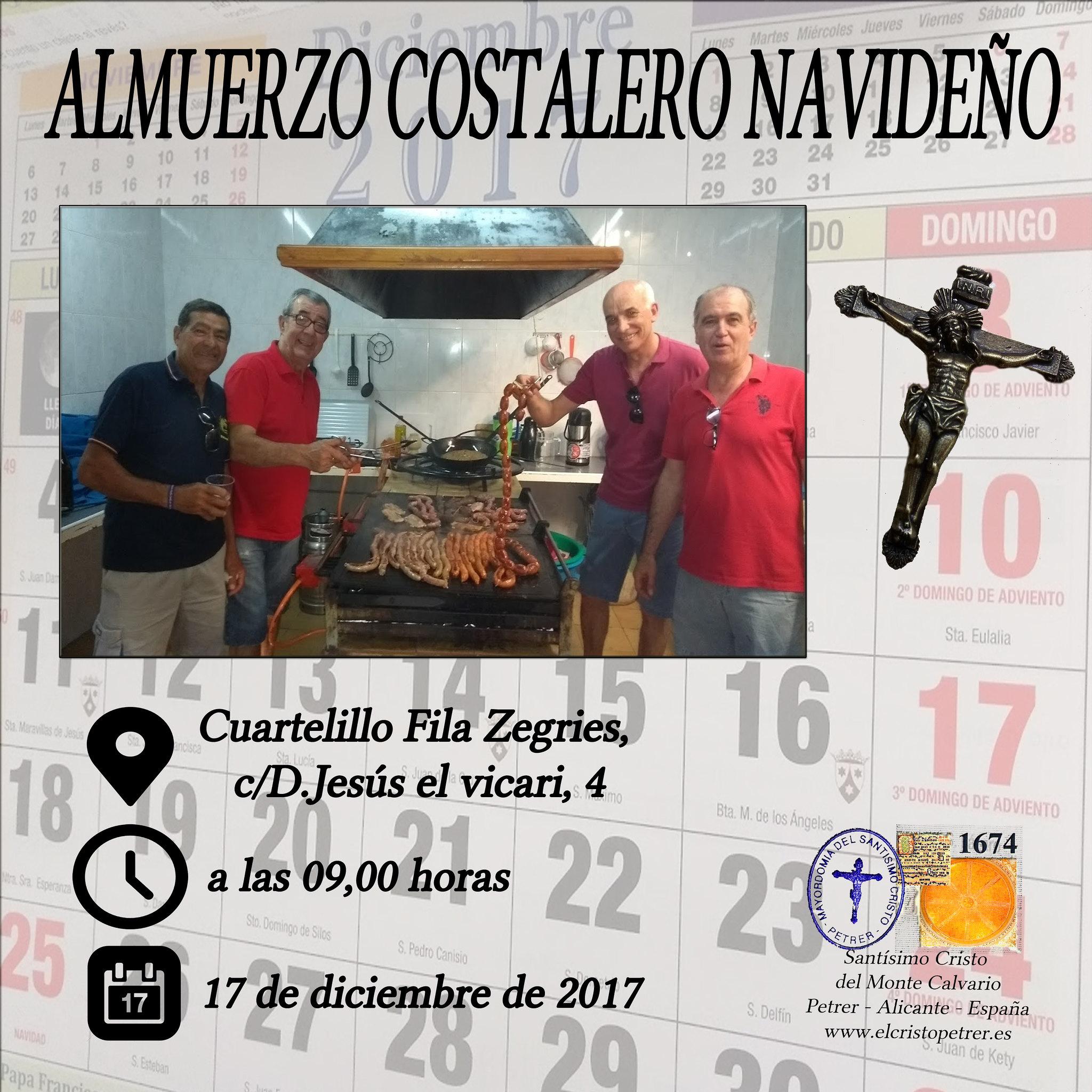 (2017-12-17) Almuerzo Costalero Navideño - José Vicente Romero Ripoll (00)