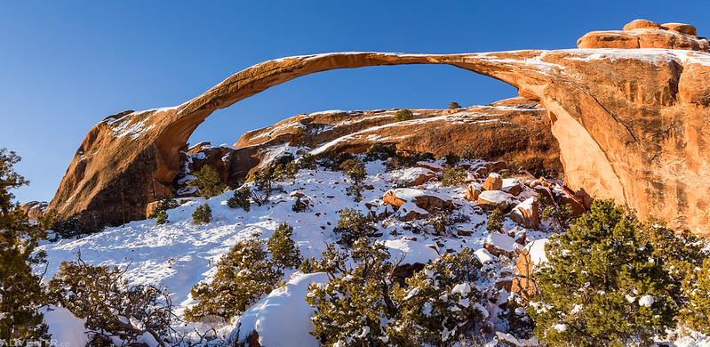Landscape Arch, Christmas 2017