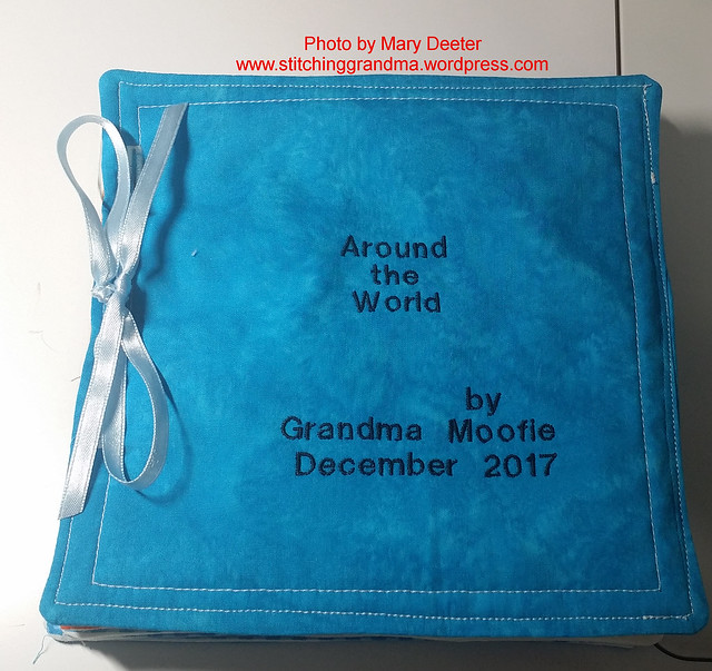Around the world fabric book