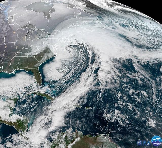 East Coast Bomb Cyclone