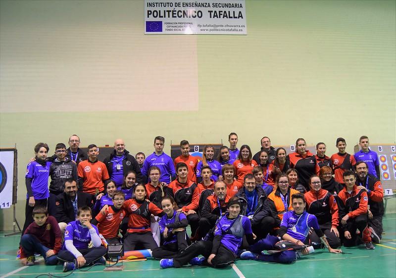III Tiradas JDN y Campeonato Navarro. Tafalla diciembre 2017
